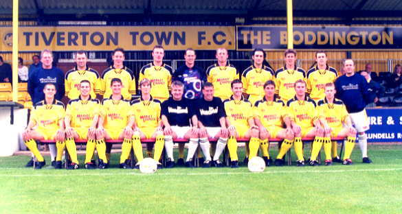 Tiverton Town 2000/01